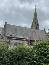 St. Paul's Church Scaffolding - what's going on?