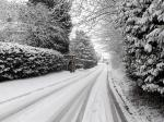 Image: Church Road covered in snow