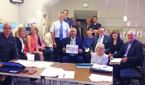 Police and Crime Commissioner Hardyal Dhindsa  at Parish Council meeting